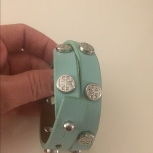 Tory Burch Jewelry - Tory Burch double wrap leather bracelet